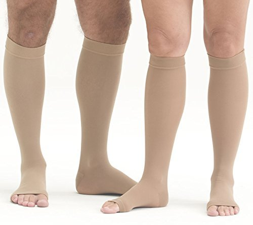 Mediven Plus, Knee-High With Top Band, 20-30mmHg, Open To...
