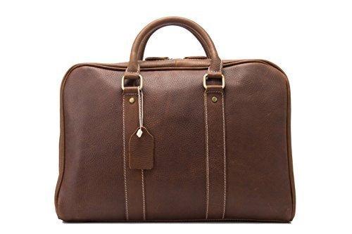 Jellybean Gorilla Handcrafted Full Grain Genuine Leather Business Briefcase Men Messenger Bag for 15-Inch Laptop by Jellybean Gorilla (Image #4)