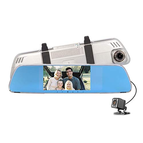 Dreamyth V25 1080P HD1.3MP Webcam Car DVR Dual Lens Cameras Vehicle Rear Video Recorder,,American Warehouse Shippment by Dreamyth (Image #2)