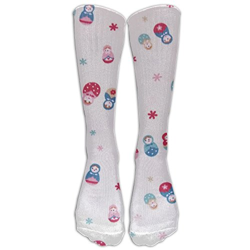 Russian Matryoshka Doll Pattern Youth Stockings Full All Over Print Trend Comfortable For You ()