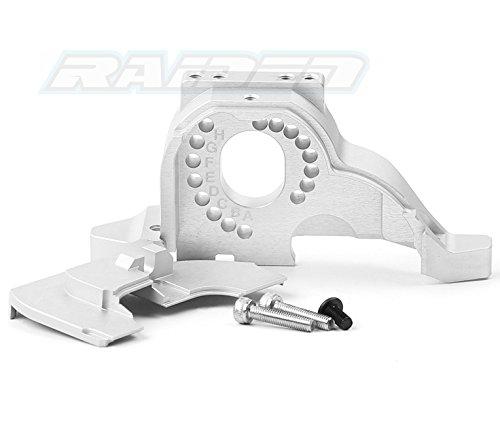 Raidenracing Aluminium Alloy Motor Mount Heat Sink for Traxxas TRX-4 Tactical Unit TRX 4 Bronco D90 Trail Crawler