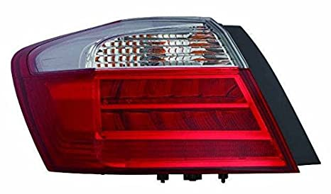 Depo 317-19A5L-AF Tail Lamp Assembly LED TYPE DRIVER SIDE NSF