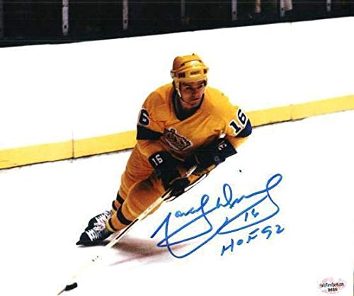 - Autographed Signed Marcel Dionne Los Angeles Kings 8x10 Photo - Certified Authentic