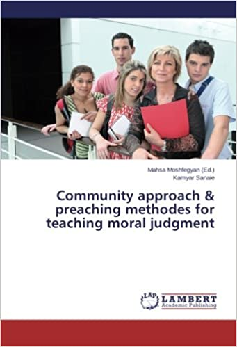 Book Community approach and preaching methodes for teaching moral judgment