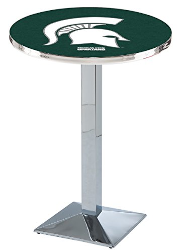 Holland Bar Stool L217C Michigan State University Officially Licensed Pub Table, 28