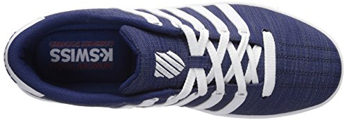 K-swiss Hombres Court Pro Ii T Cmf Sneaker Azul / Blanco