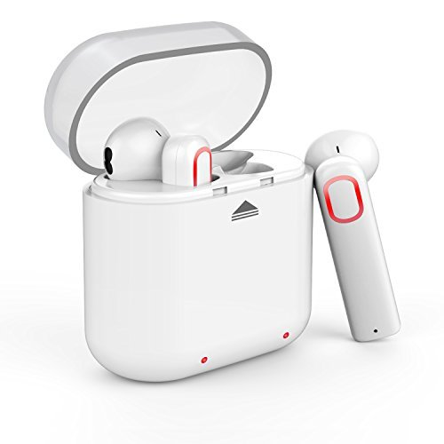 Smart Bluetooth Headset for Android Phone (White) - 6