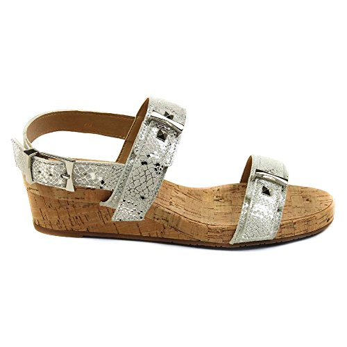 N Silver Cabry Women's Kami Silver White 7 VANELi sandals White Cabry 5 8agqZxS