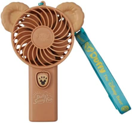 [해외]ダッフィ? 팬 ダッフィ?의 써니 팬 2019 핸디 선풍기 디즈니 상품 기념품 【 도쿄 디즈니 씨 한정 】 / Duffy Fan Duffy`s Sunny Fan 2019 Handy Fan Disney Goods Souvenir [Tokyo DisneySea Limite