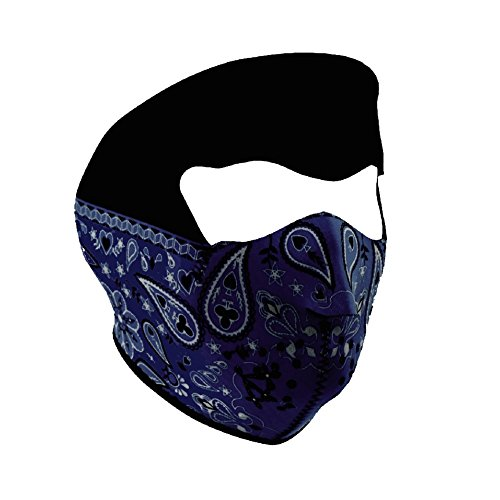 ZANheadgear Mardi Gras Neoprene Face (Women Street Bike Apparel)