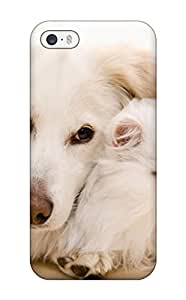 Areebah Nadwah Dagher's Shop 2015 New Snap-on Skin Case Cover Compatible With Iphone 5/5s- Cat And Dog