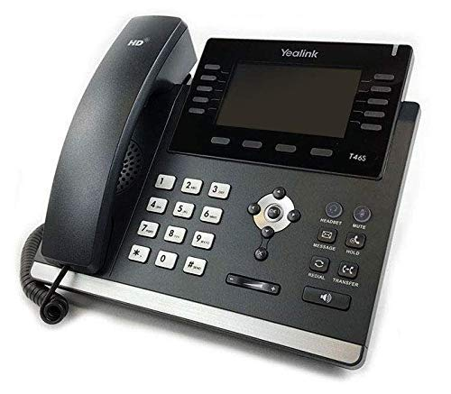 - Yealink SIP-T46S IP Phone (Power Supply Not Included) - New Open Box