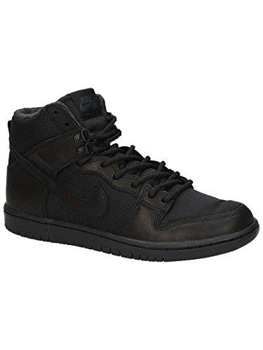 Nike SB Dunk High Pro Bota 923110-001 Black/Black (9.0)