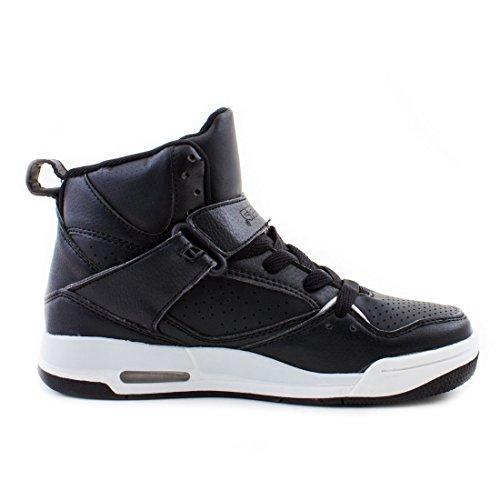 Stylische Unisex Schwarz Top Herren Sport Schuhe Sneaker Freizeit Basketball Low Damen High Wei UUqdPWwrC