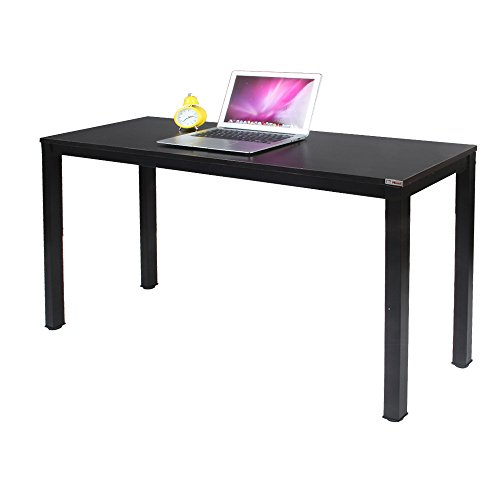 Need Computer Desk 47L15.7W Computer Table with BIFMA Certification Writing Desk Side Table Office Desk Black Brown, AC3CB-40