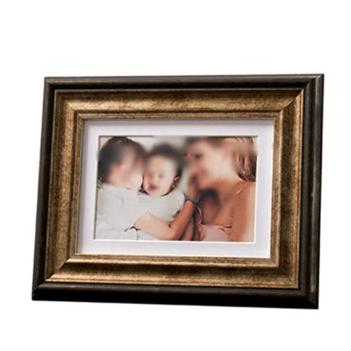 PANGU-ZC Photo Frame Golden Photo Frame Set-top Wall-Mounted Photo Frame Hotel Club Business Photo Frame -Photo Frame (Color : E, Size : 20.325.3)