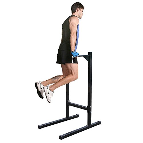 BBBuy Freestanding Dipping Station Dip Stand Parallel Pull Push Up Bar Bicep Triceps Home Fitness Workout Gym For Sale