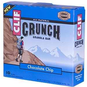 Clif Bars Crunch Cchip Bar 48x 5 CT by CLIF
