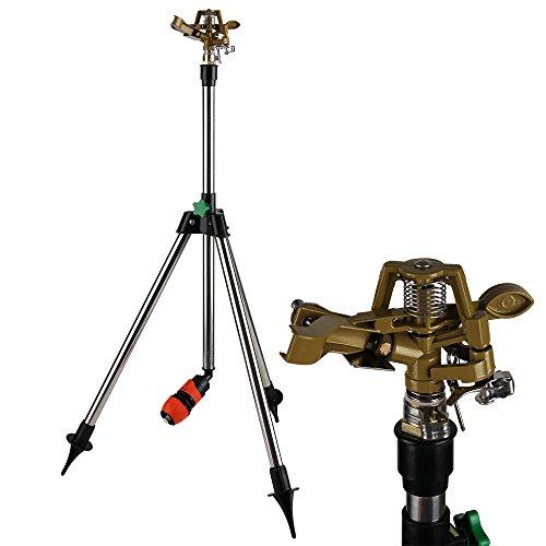 Rasensprenger-Teleskopstativ-bis-88cm-Sprinkler-Reichweite-24m