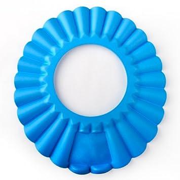 Dragonpad Baby Shower Cap, Shampoo Visor, Bath Visor BLUE