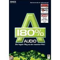 Audio 180 %, 1 CD-ROM Der legale Weg zu den neuesten Hits! Das Internetradio mit 'Aufnahmeknopf'. Für Windows 98 SE/ME/XP SP1 und SP2