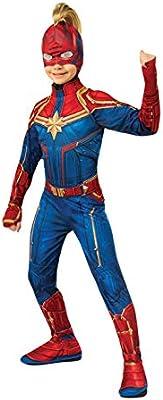 Rubies - Máscara Oficial del Capitán Marvel con Mohawk, Accesorio ...