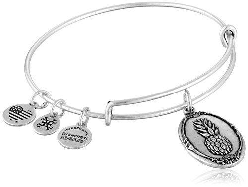 Alex and Ani Pineapple II Expandable Rafaelian Bangle Bracelet by Alex and Ani
