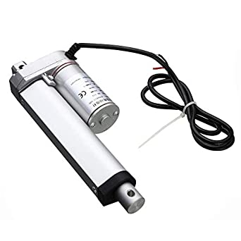 DC 12V 100mm Stroke 500N 20MM/s Linear Actuator: Amazon com