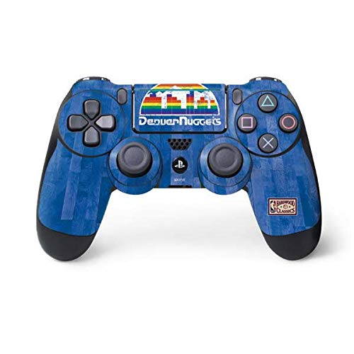 Skinit Denver Nuggets Hardwood Classics PS4 Pro/Slim Controller Skin - Officially Licensed NBA Gaming Decal - Ultra Thin, Lightweight Vinyl Decal Protection