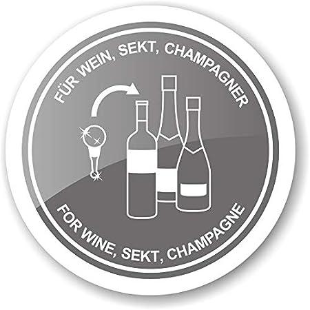 Edzard Búho tapón para champán, Vino y Vino espumoso, técnica de Copa de Murano, Altura 11 cm, Artesanal