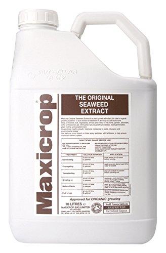 Decco Maxicrop 140210 10L Original Organic Seaweed Extract Decco Ltd 554253
