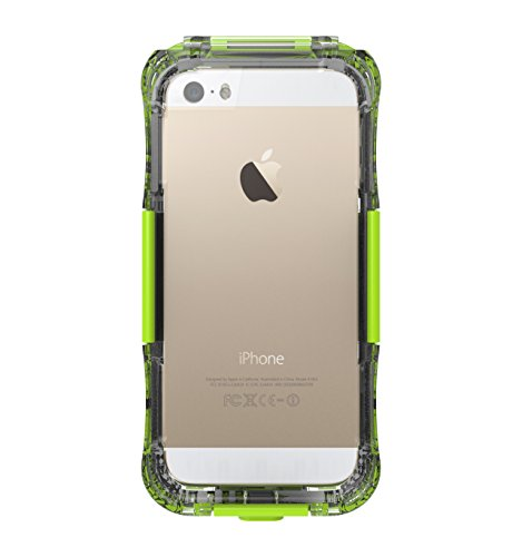 iPhone 5SE 5S 5 Schutzhülle, Moonmini® Unterwasser Hülle Case Bumper Wasserdicht Stoßfest hülle für Apple iPhone 5SE 5S 5, Glänzend Grün