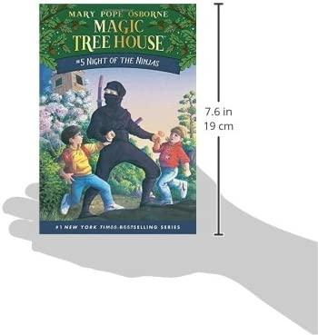 Night of the Ninjas The magic tree house Idioma Inglés ...