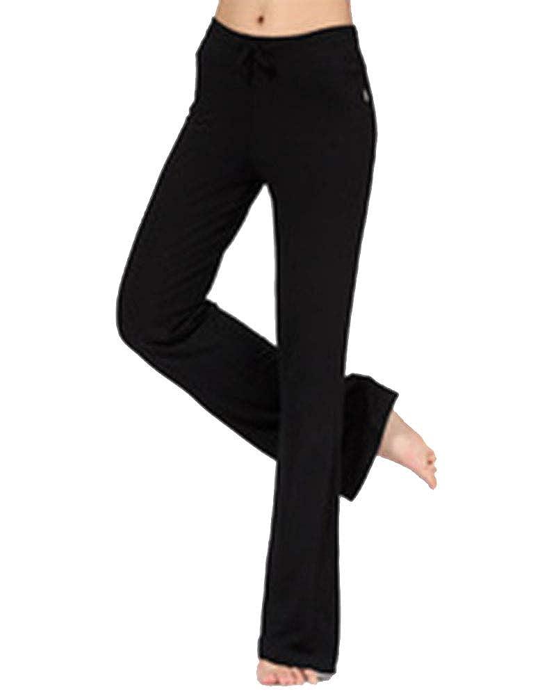 Shaoyao Mujer Suave Pantalones de Fitness Modal Pantal/ón para Danza Yoga Pilates