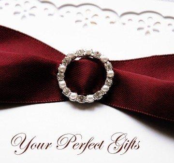 20 pcs Rhinestone Pearl Buckles Wholesale Buckle Crystal Sliders Silver Wedding Invitation Napkin RIng BK004