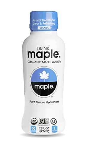 Drinkmaple Pure Maple Water, 12 Fluid Ounce (Pack of 12)