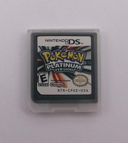 Pokemon: Platinum Version Nintendo DS Version Game Cartridges for 3DS/NDSI/2DS