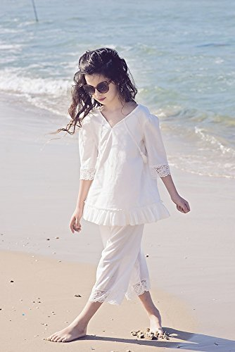 Amazon Com Girls Boho Capri Pant Set Girls Boho Outfit Boho Pants