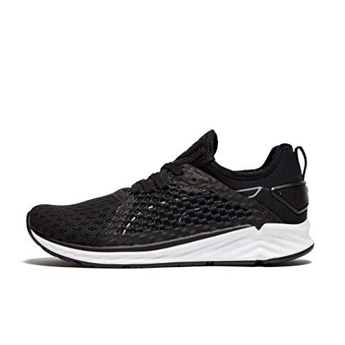 Puma Zapatillas de Running Ignite 4 Netfit Para Mujer, Negro, 40