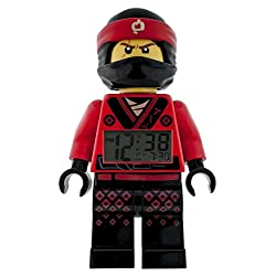 ClicTime Ninjago Movie Kai Minifigure Alarm Clock