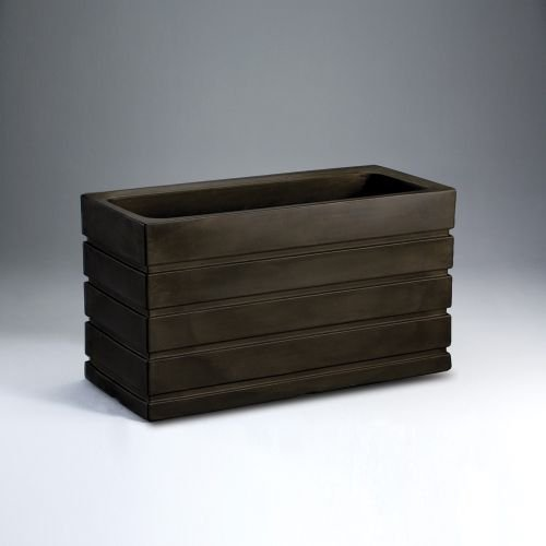 Latin Spirit EP-LSLIM-COP-4820 48 x 20 x 26 in. Lima Rectangular Planter44; Dark Copper by Latin Spirit
