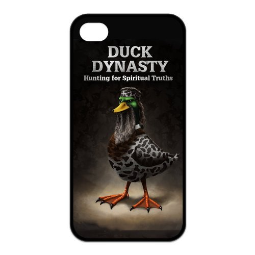 Fayruz- Duck Dynasty Protective Hard TPU Rubber Cover Case for iPhone 4 / 4S Phone Cases A-i4K14