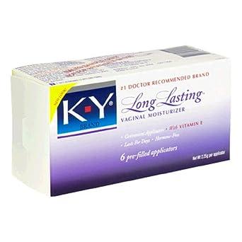 K y long lasting vaginal moisturizer