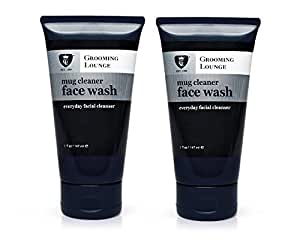Grooming Lounge Mug Cleaner Face Wash, 2 Ounce (2 Pack)