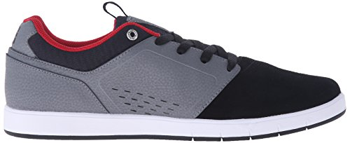 Dc Mens Cole Pro Skate Schoen Grijs / Zwart / Rood