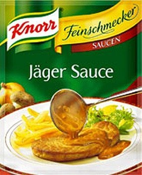 Knorr Feinschmecker Jaeger Sauce Mix- 1 pc (Best Jaeger Schnitzel Recipe)