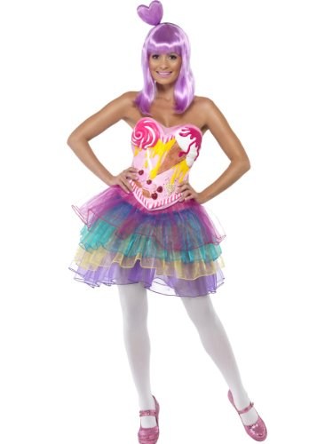 Candy Queen Costume, Multi, Medium