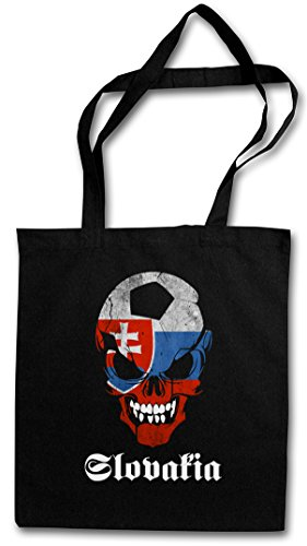 Sac De Courses Black Réutilisable Football Pochette En Backwoods Flag Skull Cotong Urban Classic Slowakia P05nzqxawv