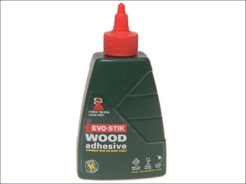 Evo Stik Resin W Wood GLue Adhesive Interior 500ml 715219