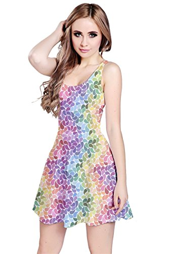 CowCow - Vestido - para mujer Colorful Pastel